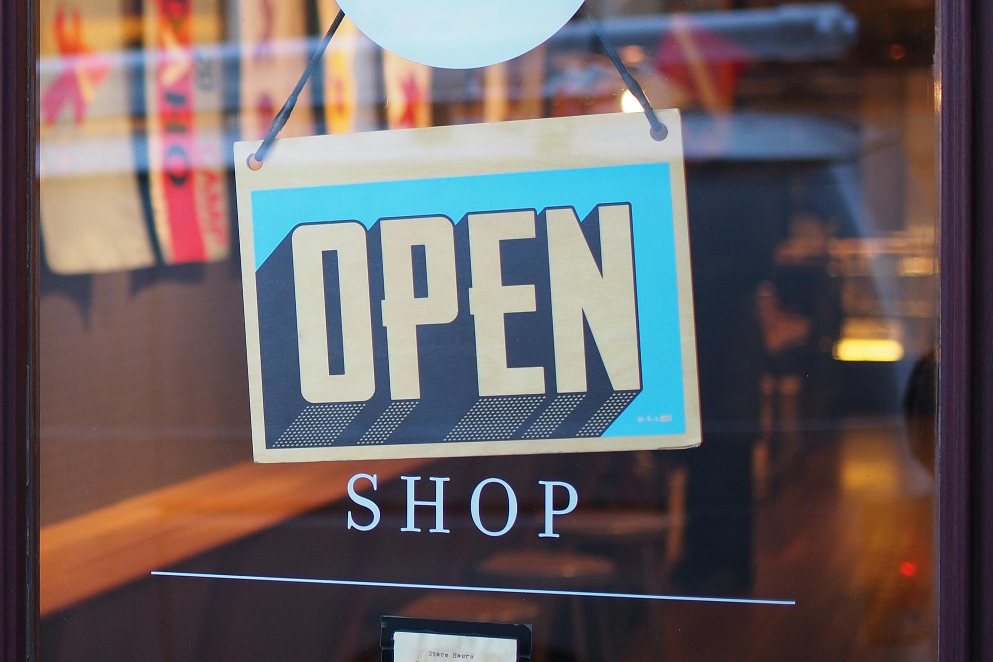 Shop Picture Open